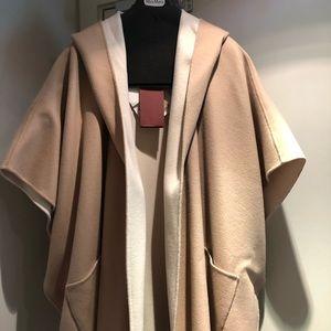 Brand new Maxmara double-side cape